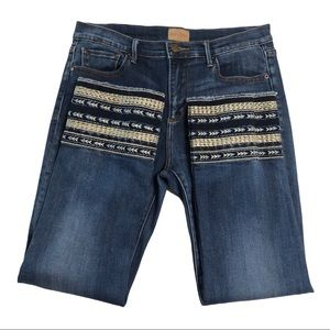 Driftwood Colette Embroidered Jeans 1221